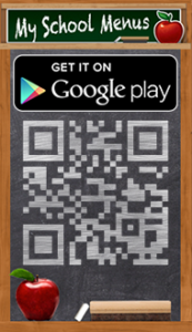 Google Play Chalkboard with QR Code